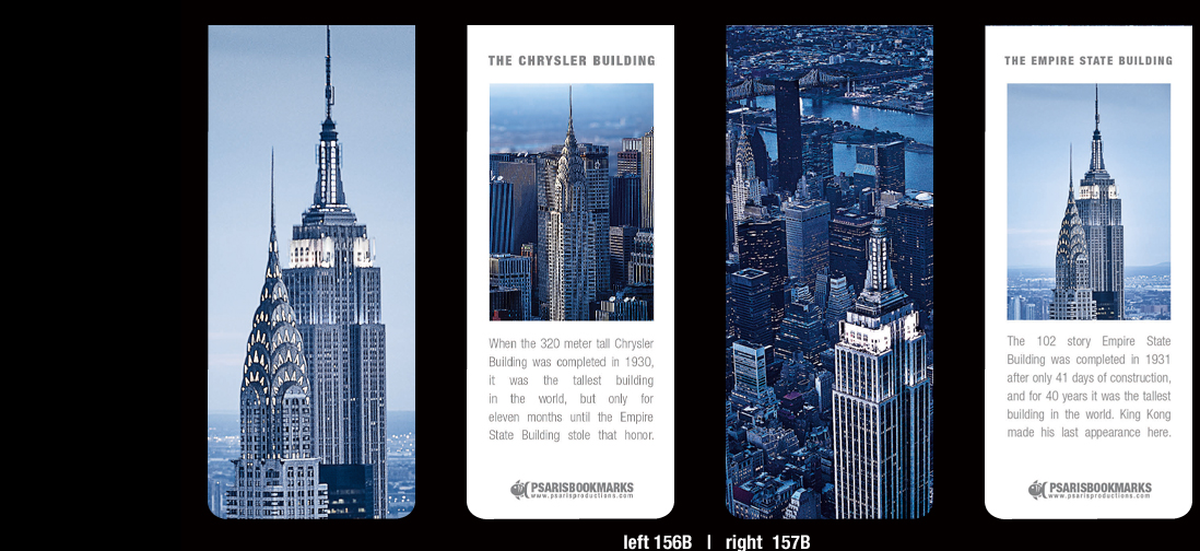New York Magnetic Bookmarks | Psaris Productions