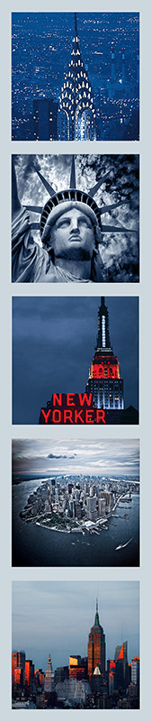 NEW-YORK-REFRIGERATOR-MAGNETS-SET-OF-FIVE