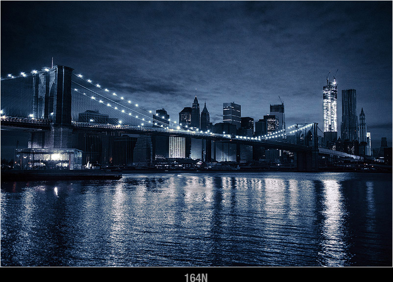 NYC-Postcard-of-Brooklyn-Bridge-Blackout