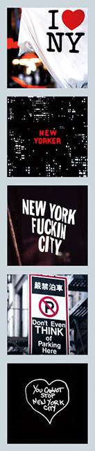 New York Magnet Set I Love New York  Photo © Konstantino Hatzisarros 2013
