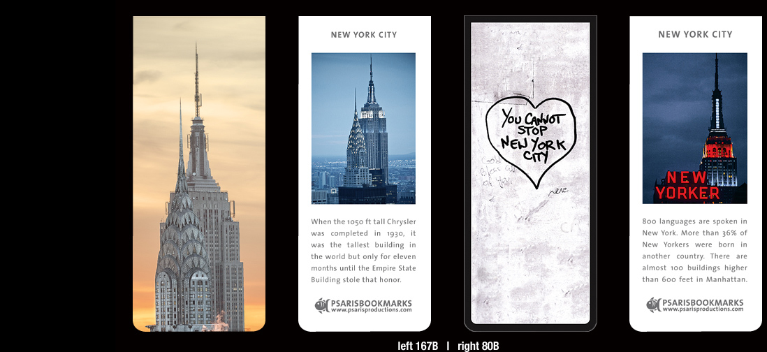 New-York-Magnetic-Bookmarks | Psaris Productions