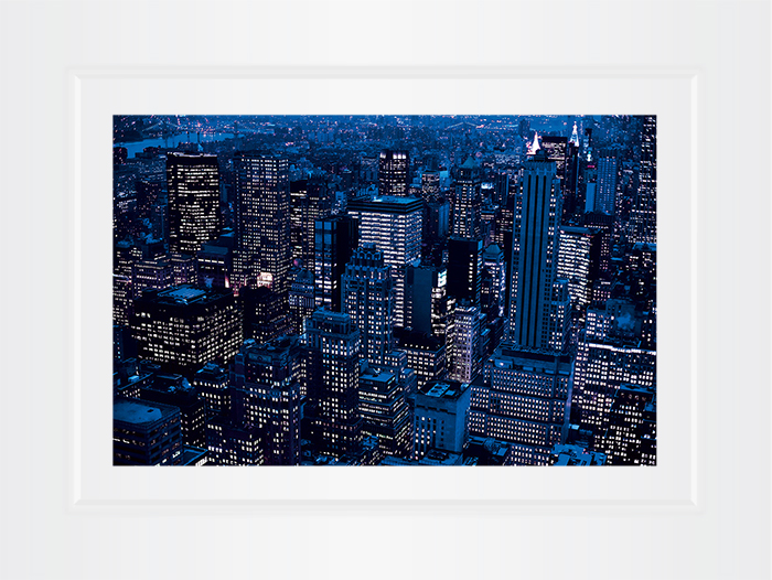 New York Notecard Midtown Aerial View Photo © Konstantino Hatzisarros 2013