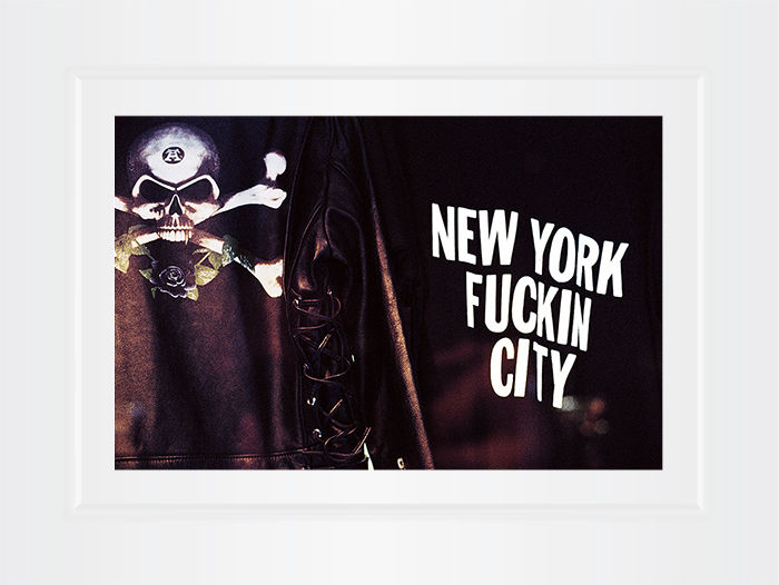 New York Notecard New York Fuckin City Photo © Konstantino Hatzisarros 2013