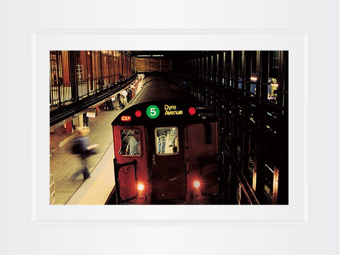 New York Notecard Subway Train Photo © Konstantino Hatzisarros 2013